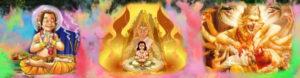 Holika Dahan - Hiranya Kashyapa - Narasimha - Prahlada