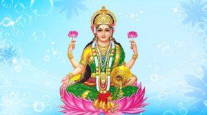People worship Lakshmi Devi on Akshaya Tritiya