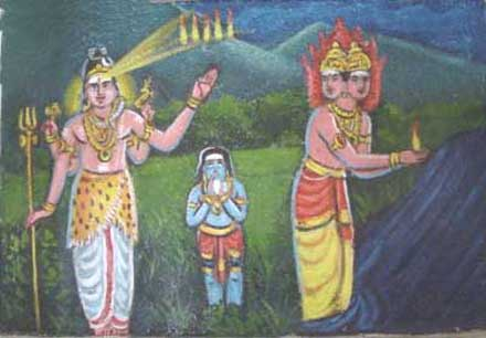 Lord Murugan Birth story