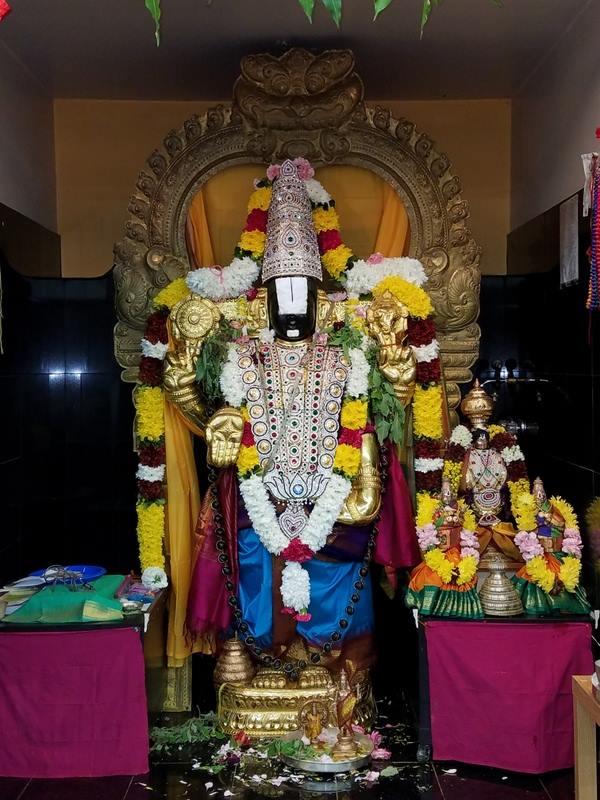 Shiva, Balaji, Ganesha & Navagraha